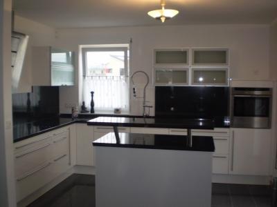 Küchenumbau mit Granit anpassungs Arbeiten