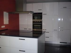 Nobilia Küche mit Granit und Insel Hattingen 2